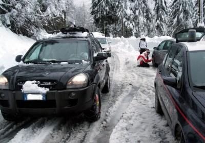 disagi per la neve a Madesimo
