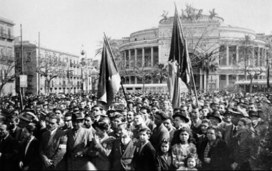 Manifestazione indipendentista a Palermo