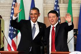 Obama e Renzi