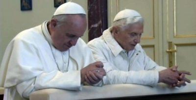 Bergoglio e Ratzinger