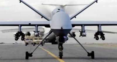 Drone USA in partenza da Sigonella