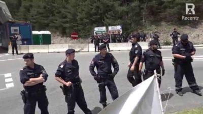 Polizia per summit Club Bilderberg (2015)