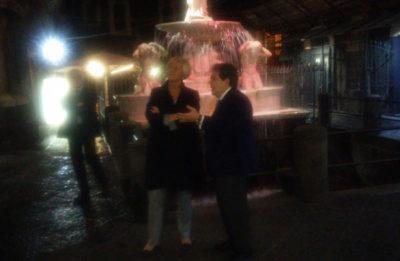 Roberta Pinotti con Enzo Bianco