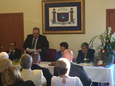 Tommaso Capoccia nel corso della presentazione del volume