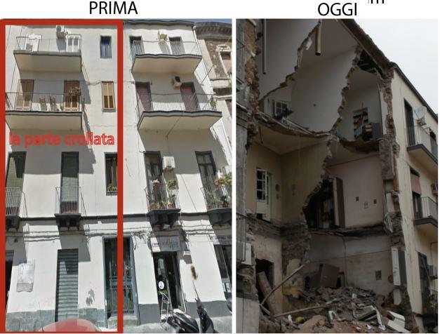 Esplode bombola di gas: crolla palazzina a Catania. Una vittima, due feriti gravissimi
