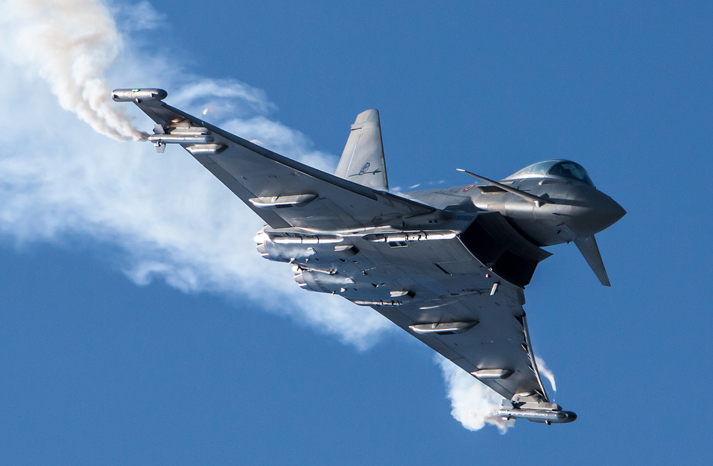 Eurofighter 2000 in volo