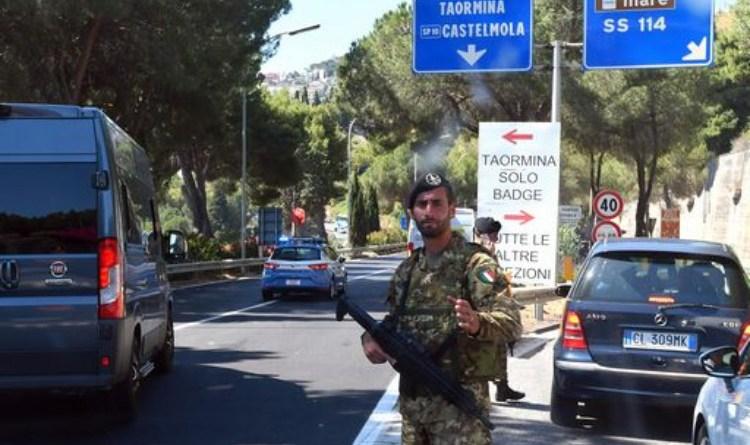 Al G7 di Taormina si temeva un attacco degli anarchici?