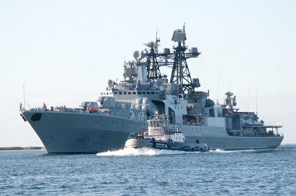 L'incrociatore russo Admiral Penteleyev