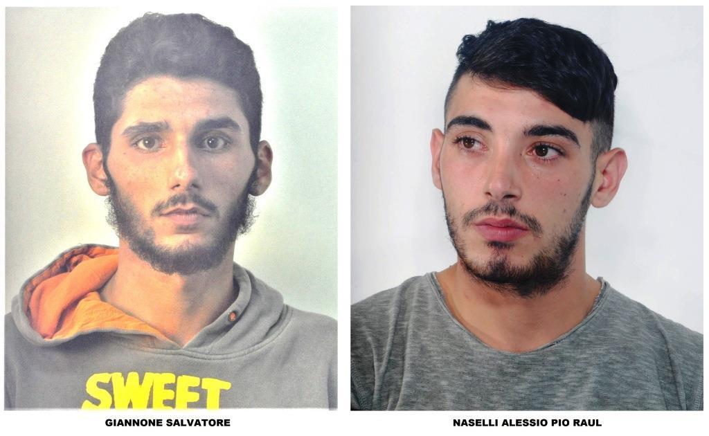 I nisseni Giannone Salvatore e Naselli Alessio Pio Raul sono stati arrestati per il furto alla chiesa di Sant'Agata al Collegio