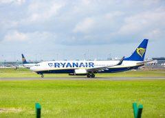 Nuova rotta Ryanair Catania-Bari