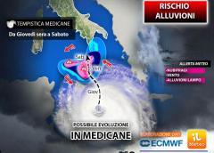 METEO. Allerta Medicane in Sicilia