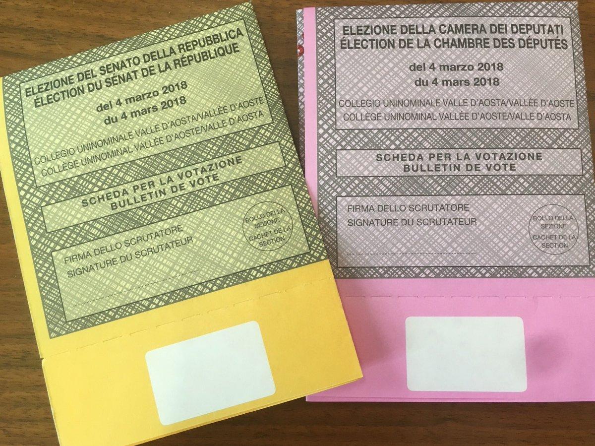 Elezioni 2018 debutta il tagliando anti frode sulle