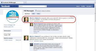 Pagina Facebook pdl Maruggio