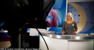 Siv Kristin Sællmann, nyhetsoppleser i NRK Sørlandet