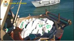 sequestro Marjjuana peschereccio