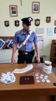 Droga, danaro e materiale sequestrato