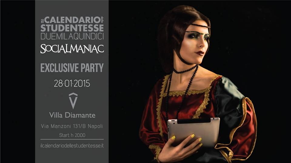 Simona Quaranta Calendario.Napoli Calendario Delle Studentesse 2015 Tema Dell Anno