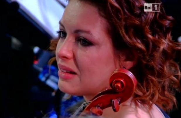 violinista-lacrime-sanremo