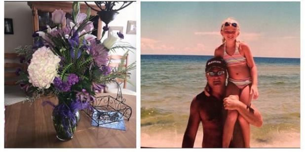 Un mazzo di fiori e lettera ad ogni compleanno. La figlia lo riceve dal padre morto da 5 anni