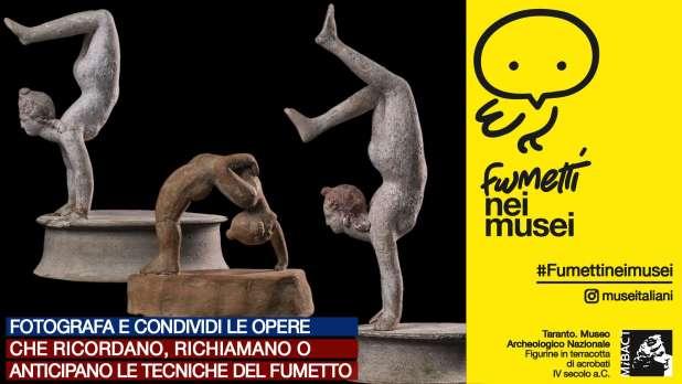 Fumetti nei Musei. Il Museo Archeologico di Taranto a fumetti in una graphic novel d'autore