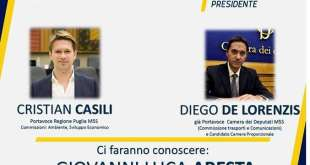 Maruggio, i candidati M5S incontrano la cittadinanza