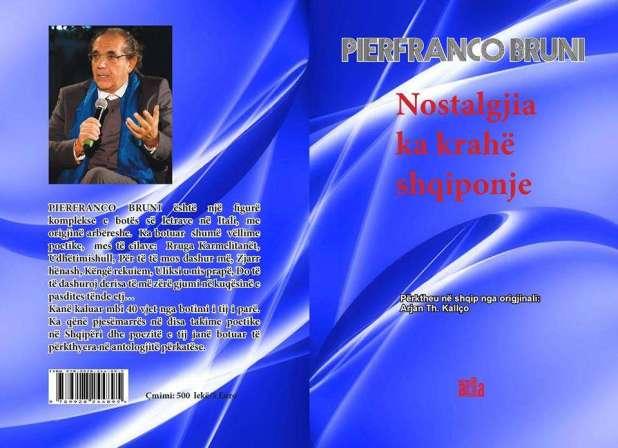 Pubblicato a Tirana in traduzione albanese la poesia di Pierfranco Bruni