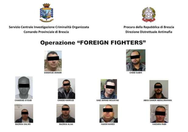 Operazione foreign fighter 10 siriani arrestati