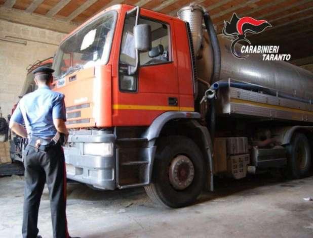 Torricella (Ta),traffico illecito di rifiuti: Sversavano liquami di fogna nera nelle campagne limitrofe. Denunciate 4 persone