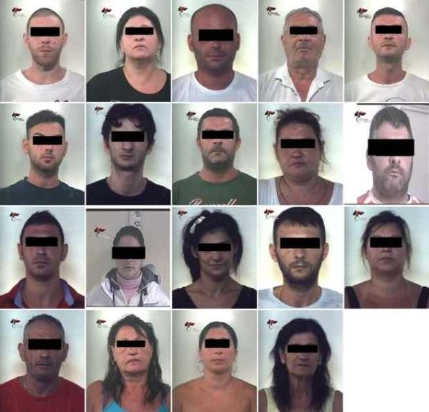 """TARANTO: Operazione """"Civico 18"""". I Carabinieri della Compagnia di Taranto arrestano 19 persone per traffico e spaccio di sostanze stupefacenti"""