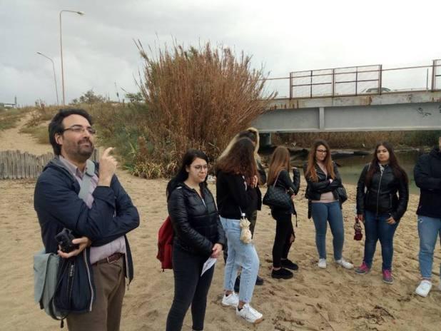 """Acqua, ecologia e storia un """"tuffo"""" nel passato per gli studenti del Liceo De Sanctis Galilei"""
