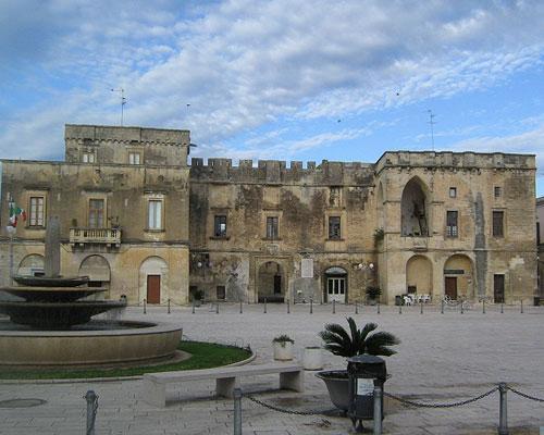 Fortezze e Castelli di Puglia: Il Palazzo Ducale di Cavallino