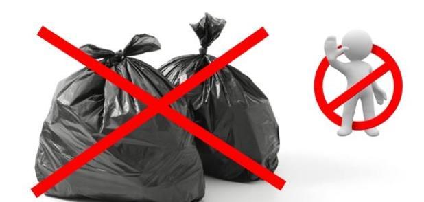 Sava: stop alle buste nere per la spazzatura. Ordinanza in vigore dal 1 maggio 2019