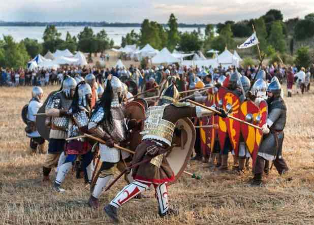 Taranto - Presentata la Battaglia dell'XI secolo tra Normanni e Bizantini