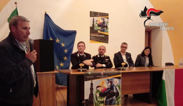 Sava - Conferenza a tutela degli anziani vittime di truffe