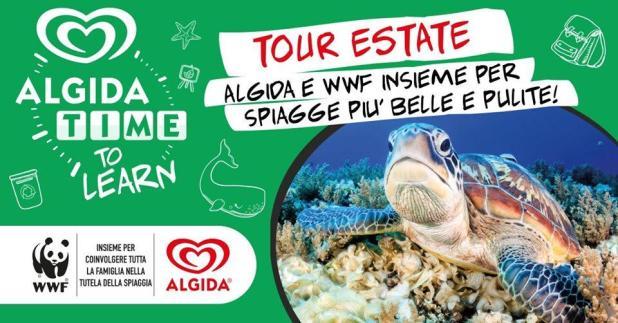 Algida Time to Learn, Tour estate 2019, fa tappa a Campomarino di Maruggio