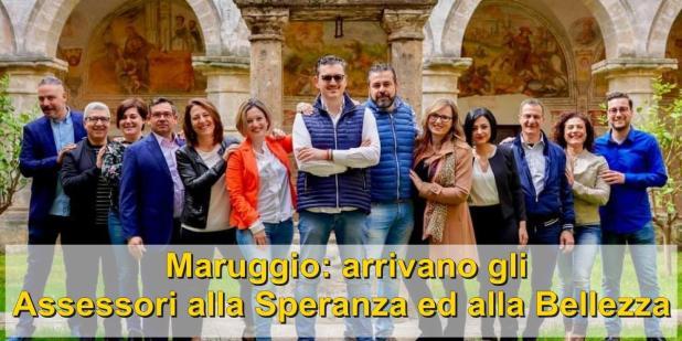 """A Maruggio arrivano gli Assessori alla Speranza ed alla Bellezza. """"Deleghe valoriali e non di settore"""""""