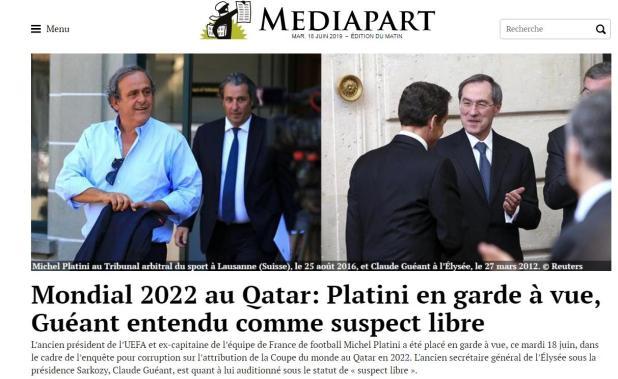 Mondiali di calcio 2022: fermato dalla polizia francese Platini, è accusato di corruzione