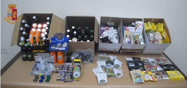 Vende marijuana in un distributore automatico, denunciato il titolare e sospesa l'attività