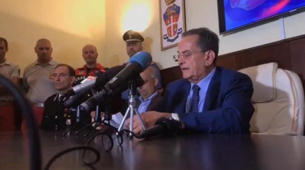"""Morte Cosimo Massaro in conferenza stampa del procuratore della Repubblica Carlo Capristo:""""Siamo sulla strada della chiarezza"""""""