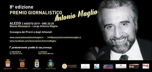 Premio alla carriera ad Angela Buttiglione,Marco Brandovincitore del Premio Maglio 2019