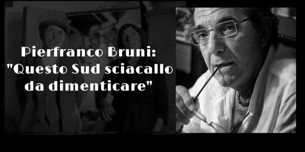 """Pierfranco Bruni: """"Questo Sud sciacallo da dimenticare"""""""