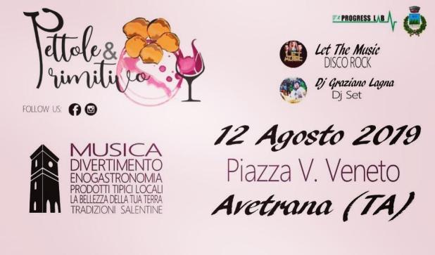 Pettole & Primitivo - musica, tradizioni, divertimento e sapori tipici del Salento