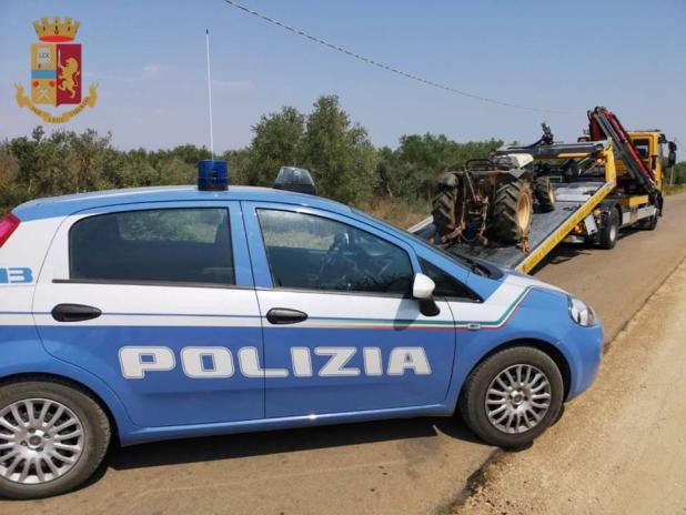 """Comunità Sicure"""": controlli della Polizia di Stato nel comune di Lizzano, quattro denunce ed un chiosco sequestrato."""