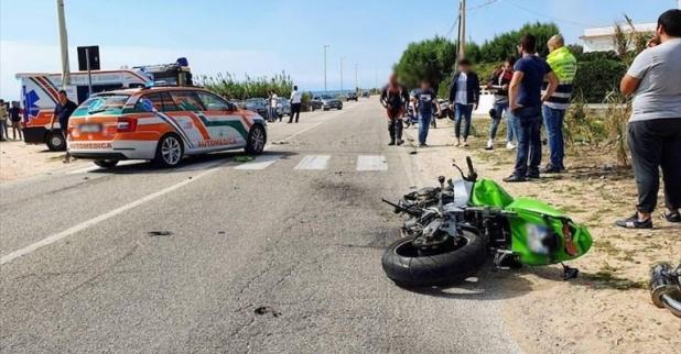 Incidente stradale sulla Litoranea Salentina Campomarino -Torre Ovo località Madonnina