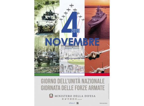4 Novembre Giornata unità Nazionale e delle Forze Armate