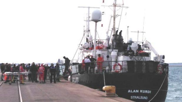 """Spacciatore nigeriano arrestato dalla Polizia di Stato: era tra i passeggeri della""""Alan Kurdi""""."""