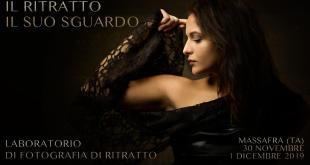 """Domani, sabato 30 novembre a Massafra, evento di cultura fotografica: """"IL RITRATTO, IL SUO SGUARDO"""", concept originale di Domenico Semeraro"""
