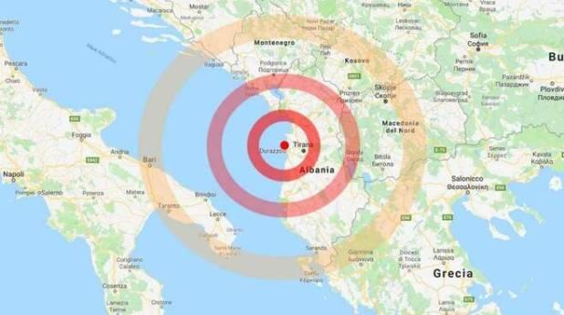 Terremoto. Trema ancora la terra sulle coste albanesi, forte scossa alle 15.45. Avvertita anche nel Salento