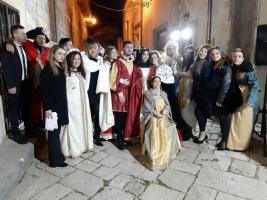 LA NOTTE DEI LICEI DEL DE SANCTIS GALILEI SPOSA LA V EDIZIONE DI ROSSO INCHIOSTRO