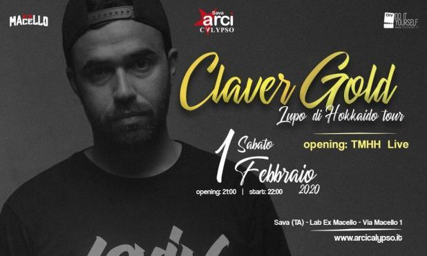 CLAVER GOLD 'Lupo di Hokkaido' tour - 1° febbraio 2020 - Arci Calypso Sava - Lab. Ex Macello (Sava, Ta)